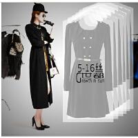 加厚PE透明 大衣婚纱 防尘罩衣服收纳袋大衣物防尘罩透明西服罩衣罩防尘袋- 特价销售