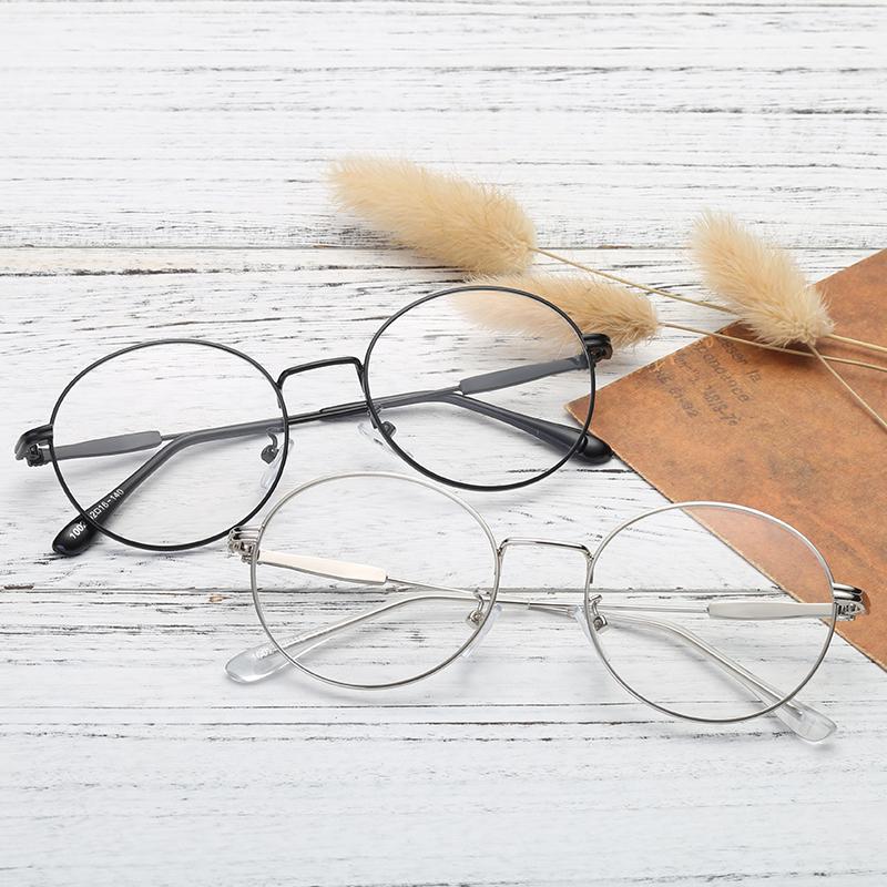 眼镜框女圆框近视眼镜男金色近视眼睛金丝复古眼镜镜框有度数 发货周期:一般在付款后2-90天左右发货,具体发货时间请以与客服协商的时间为准
