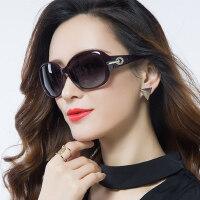 女士优雅大框复古长脸眼镜 潮墨镜女圆脸近视眼镜 新款驾驶偏光太阳镜女