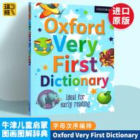 牛津儿童英语启蒙图画图解辞典 英文原版儿童字典 Oxford Very First Dictionary 英文版英英词