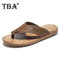 新款春夏透气男鞋   牛头酋长TBA2016欧美露趾休闲沙滩鞋   男式防滑人字拖鞋子
