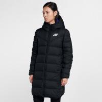 Nike耐克2018冬季新款女子双面穿长款保暖羽绒服939441-010