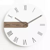 钟表挂钟客厅创意时钟时尚石英钟卧室挂表现代简约钟欧式极简家用