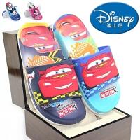 包邮新款迪士尼儿童凉拖鞋 麦昆男童学步鞋米奇女童白雪公主软底