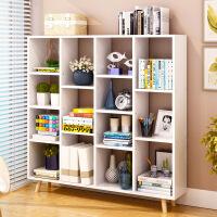 良木书架书柜宜家家居现代简约落地置物架学生书柜组合书橱旗舰