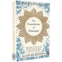 正版 The Consolations of Philosophy 哲学的慰藉 英文原版 阿兰德波顿文集 Alain D