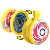 小学生变形回旋悠悠球儿童磁力电波溜溜球