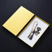 中国风青铜流苏书签8gu盘套装 复古典金属创意送老师学生圣诞节礼物 公司会议年会商务纪念礼品定制logo刻字