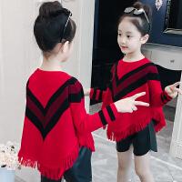 女童秋装毛衣5儿童韩版针织衫潮衣6大童装洋气时髦7岁8