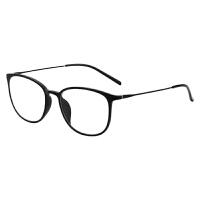 防辐射防蓝光眼镜框女复古男圆框眼睛近视电脑镜护目护眼平面镜架