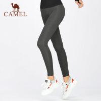 camel骆驼瑜伽裤女紧身裤弹力运动裤秋季高腰健身裤长裤显瘦训练跑步裤