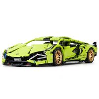 乐高兰博基尼积木男孩子汽车模型成年大人高难度跑车益智拼装玩具