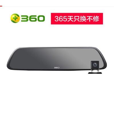 360行车记录仪后视镜版 M302 高清夜视 前后双录 倒车影像 停车监控 wifi连接 APP管理