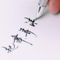 Pimio毕加索钢笔美工弯尖弯头练字书法笔916学生成人用礼盒装刻字