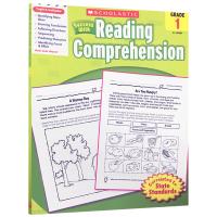 正版 美国小学一年级英语阅读理解练习册 英文原版 scholastic Success with Reading co