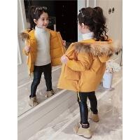 韩版女孩短款洋气棉袄儿童羽绒女童冬装外套款宝宝棉衣