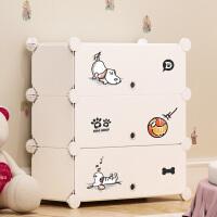 宝宝衣物收纳柜子特大号儿童婴儿衣服储物整理箱抽屉式塑料收纳箱