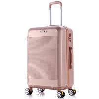 硬箱拉杆箱三尺寸同价拉杆箱旅行箱学生万向轮行李箱密码登机箱SN7341 黑色色 A817