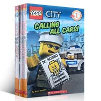 Lego City Scholastic Reader Level 1 乐高分级读物11本套装 sander King Easton Brooke Steele系列英文原版儿童绘本图画书