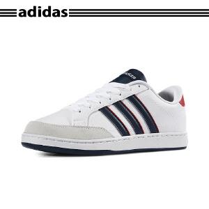 【新品】阿迪达斯(adidas) COURTSET NEO时尚低帮轻便运动休闲板鞋男鞋 2017新款 F99130