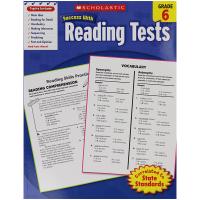 Success With Reading Tests 6 学乐英语阅读测试小学六年级 英文原版 美国进口小学教辅教材 学