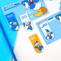 广博儿童学生磁性书签可爱卡通冰箱贴颜色随机迪士尼系列 2卡装IQT16800