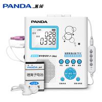PANDA/熊猫f382复读机磁带机录音机可充电u盘mp3插卡学生听放英语学习的随身听迷你充电锂电池跟读小学生正品