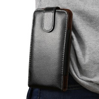 20180627102053817真牛皮手机腰包穿挂皮带4.7寸5寸5.5寸6寸通用手机壳竖款男士老人