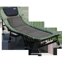 便携小折叠床 单人床陪护办公室午睡床午休床女士行军床躺椅家用 绿色(新豪华女士床)