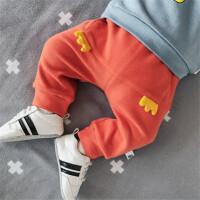 童装婴儿秋季裤子男女宝宝新生儿0-3岁2外出纯棉幼儿百搭大屁屁裤