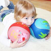 费雪儿童篮球足球卡通玩具球皮球幼儿园宝宝7寸9寸35号球包邮