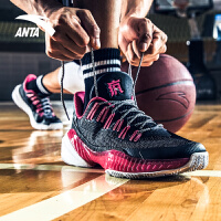 安踏篮球鞋男2019夏季新款透气低帮篮球鞋要疯2代汤普森战靴男鞋11831109