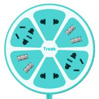 柠萌U站 TROZK柠檬多功能智能插座 带4个usb充电器 排插