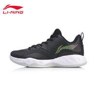 李宁篮球鞋男鞋3+1特别版新款耐磨一体织战靴运动鞋ABPN023