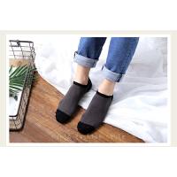 创意个性时尚男士船袜纤维分色5双装春季棉袜精梳棉短袜男款