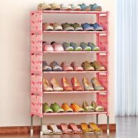 索尔诺简易多层鞋架 组装防尘鞋柜简约现代经济型铁艺收纳架K127-1