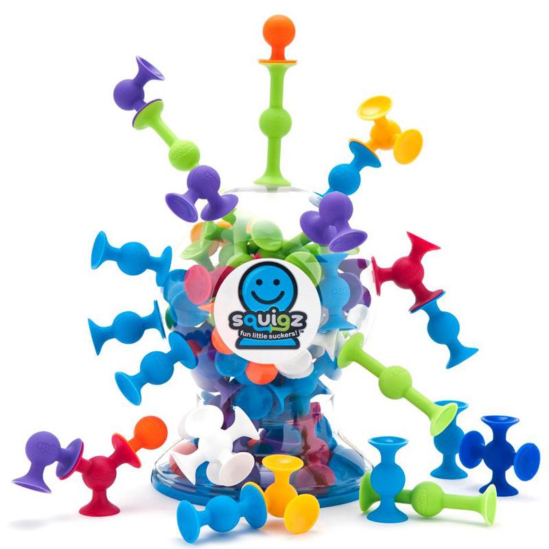 【当当自营】英国智库 豪华版吸吸乐50只装 积木拼插玩具立体拼装DIY积木棒儿童启蒙益智玩具