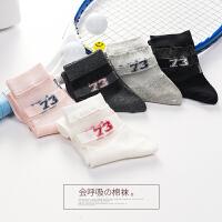 袜子女中筒袜韩版女士纯棉短袜夏季学院风日系百搭可爱运动女袜