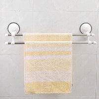 双庆家居 60cm吸盘双杆毛巾架浴巾挂架毛巾杆 SQ-1925