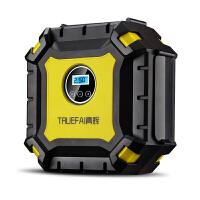 车载充气泵单缸汽车打气泵车用12v电动便携式轮胎打气筒预设胎压
