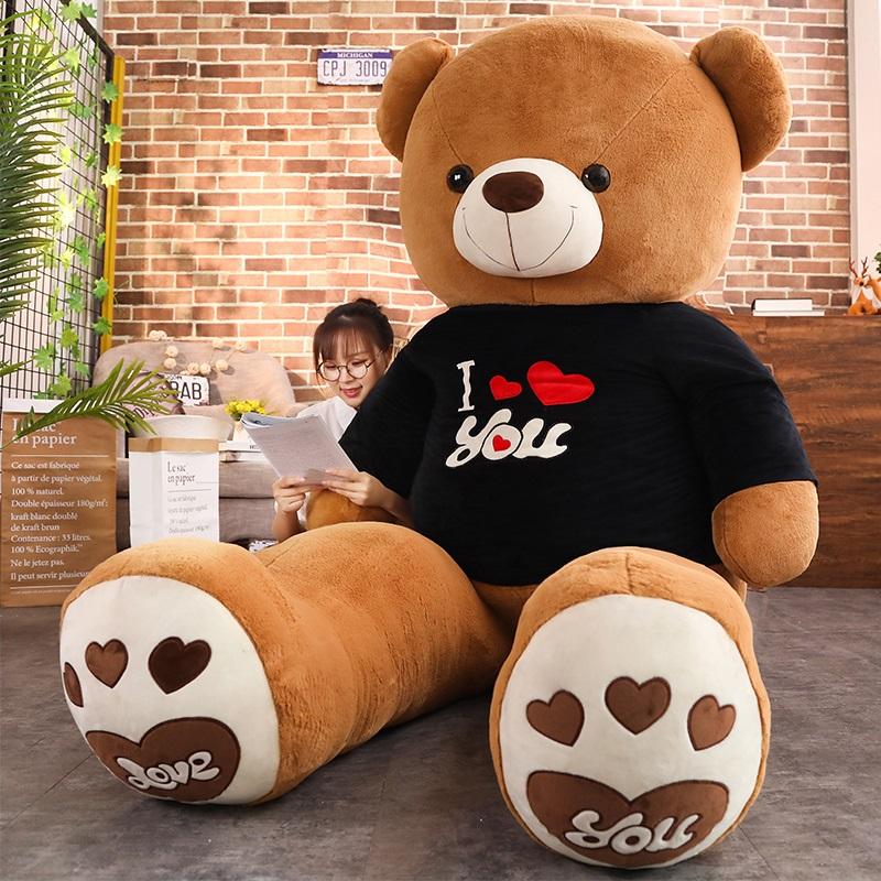泰迪熊猫公仔抱抱熊女孩布娃娃玩偶毛绒玩具送女友熊熊生日礼物