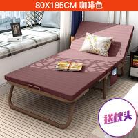 折叠床单人简易床懒人躺椅折叠垫子午休床陪护床办公室午睡床