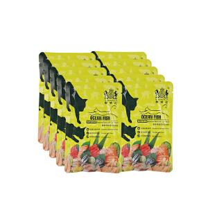 耐威克 猫湿粮 猫用零食罐头海洋鱼味湿粮包100g*10包