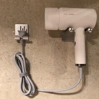 【新品特惠】不锈钢吹风机支架免打孔卫生间浴室置物架戴森电吹风筒收纳壁挂架 304不锈钢吹风机架(免打孔)