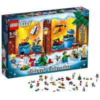 当当自营 乐高城市经典系列2018圣诞倒数日历60201 LEGO玩具积木