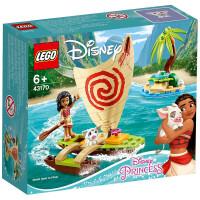 【当当自营】LEGO乐高积木 迪士尼公主系列43170 莫阿娜海上历险积木玩具 冰雪奇缘 小颗粒 2020年1月上新