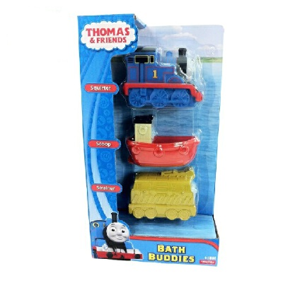 [当当自营]托马斯和朋友 学前系列 洗浴玩水火车 婴儿玩具 Y3061【当当自营】美泰正品 费雪牌托马斯洗浴车模玩具