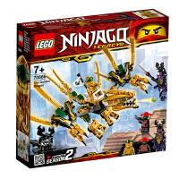 【当当自营】LEGO乐高积木幻影忍者Ninjago系列70666 幻影忍者黄金飞龙