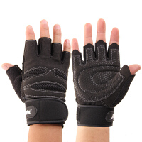 健身手套男士半指运动手套女加长护腕哑铃训练举重单杠防滑