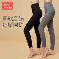 babycare孕妇打底袜春秋薄款打底袜孕期踩脚连裤袜夏季托腹光腿神器